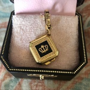 Juicy Couture Rare Eyeshadow Compact Locket Charm